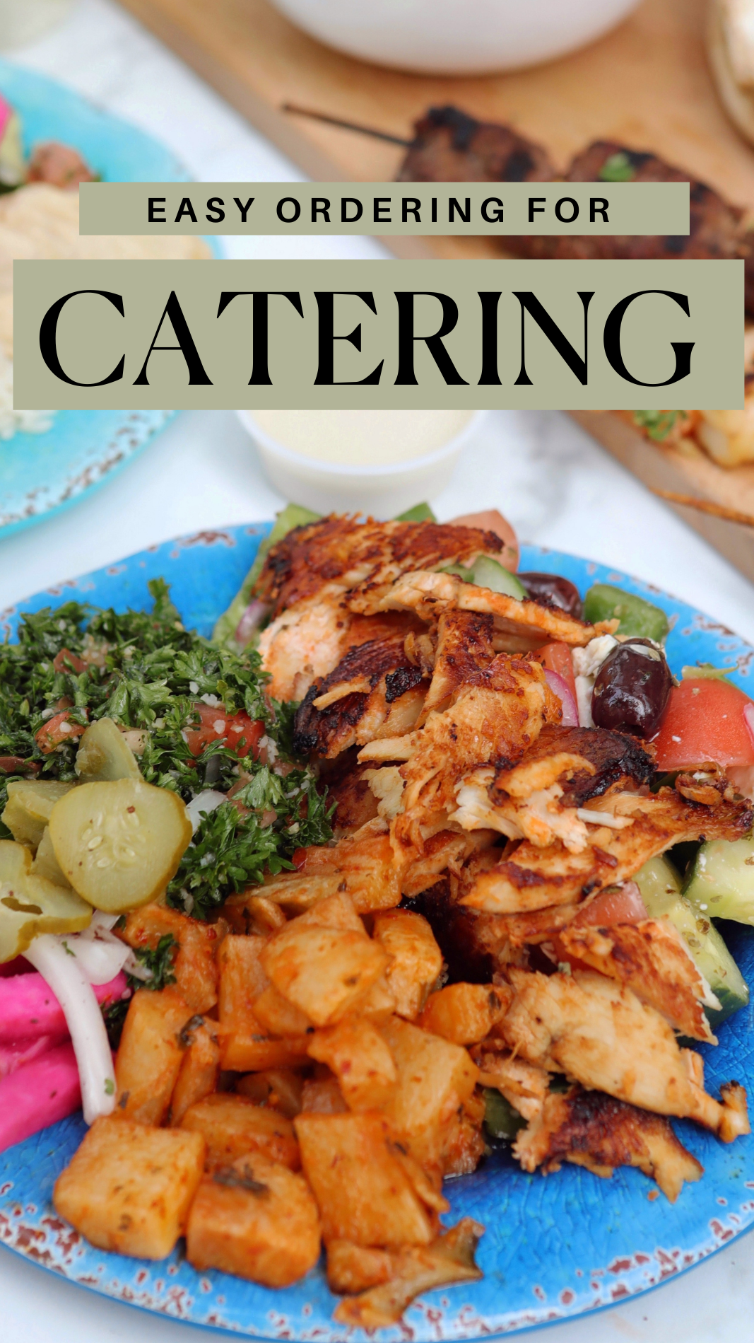 Easy Ordering for Catering