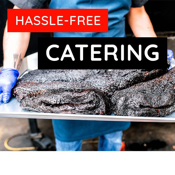 Hassle Free Catering. Click here to start your order!