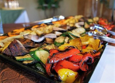 Vegetarian Grilled Vegetable Platter