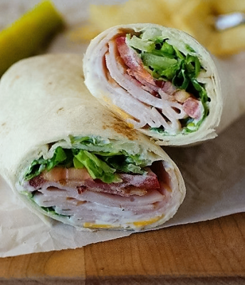 Turkey, Bacon, Ranch Extra Special Club Wrap