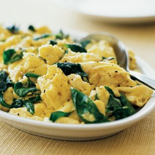 Florentine Scrambled Eggs