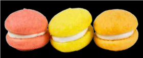 Spring Flavored Mini Whoopie Pies