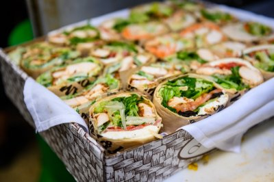 Awesome Gourmet Wrap Platter