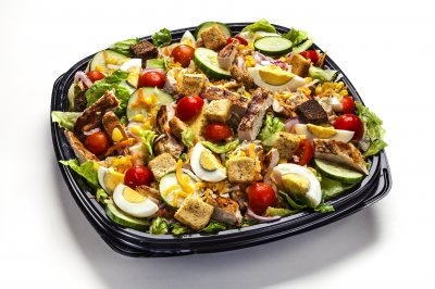 Straight Up Grilled Chicken Salad Image