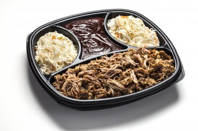 Hand Pulled Pulled Pork Tray