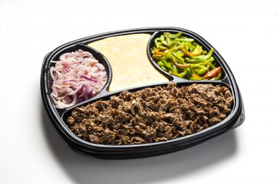 Cheesesteak tray