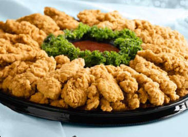 Crispy Chicken Tender Platter