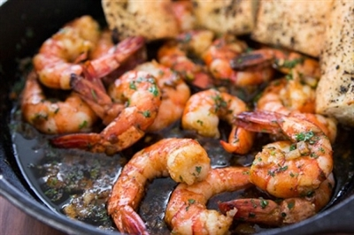 Grilled & Chilled Tequila Shrimp Platter