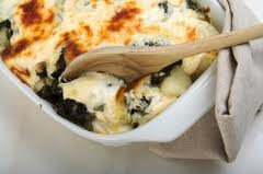Chicken Florentine Casserole (By The Pan)