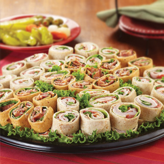 Backyard Sandwich Roll Up Tray