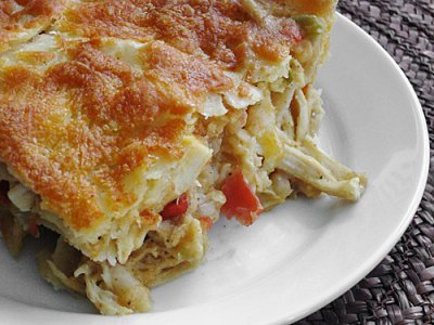 King Ranch Spaghetti Casserole (By The Pan)