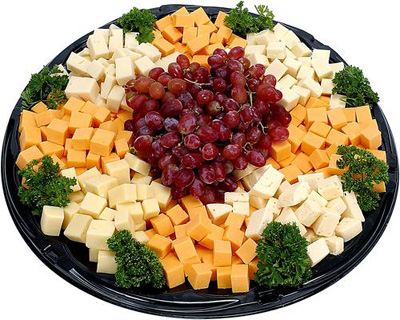 Cheese & Grapes Tray