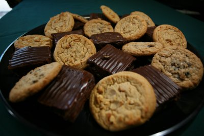 Brownie and Cookie Tray