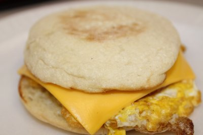 English Muffin Eggwich