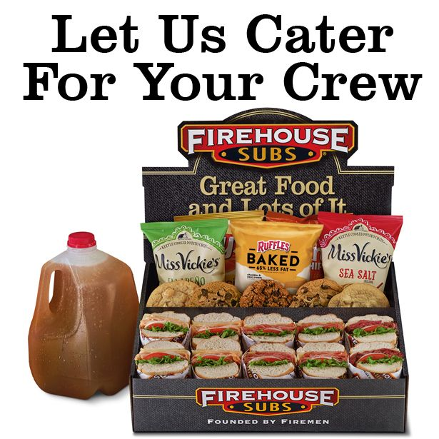 Let us cater for your crew.
