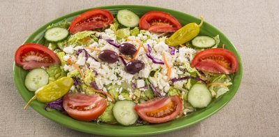 Fresh Greek Salad Tray - Large