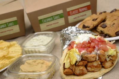 Chicken Gyro Lunch Box