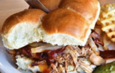 Burger or BBQ Pulled Pork Sliders Image