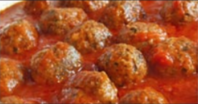 Homemade Meatballs Image