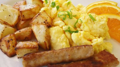 Classic Scrambled Egg Breakfast