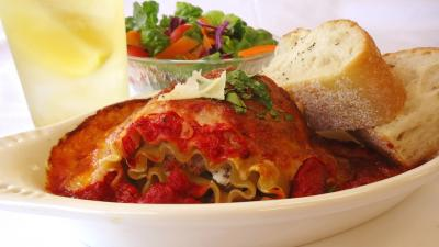 *October Special* Lasagna Rolls