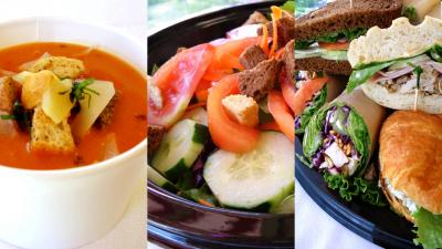 *October Special* Soup, Salad & Sandwich Buffet