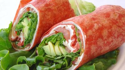 Healthy Wrap Lunch