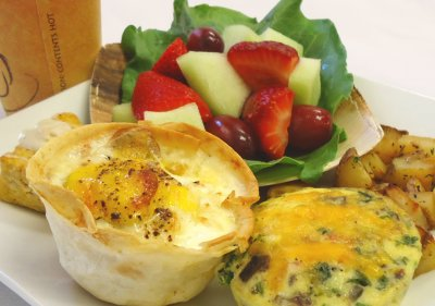 Egg Frittata Breakfast Buffet