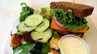 Salad & Sandwich Lunch Combo