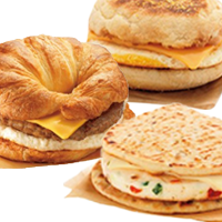 BOX OF BREAKFAST SANDWICHES (serves 12)