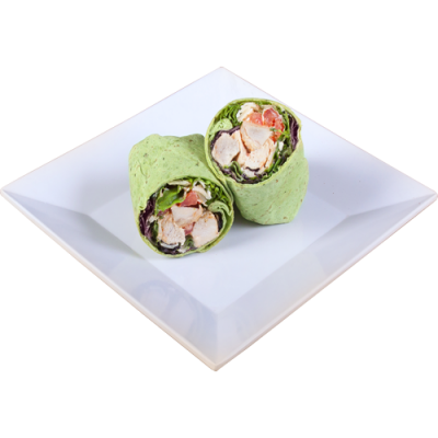 Chicken Caesar Wrap - Platter of 10