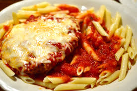 Chicken Parmesan with Ziti