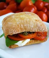 Tomato, Basil and Fresh Mozzarella- Vegetarian
