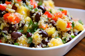 Black Bean and Mango Quinoa Salad (Gluten Free)