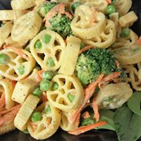 Wagon Wheel Pasta Salad