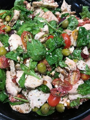 Greek Chicken Salad (Gluten Free)