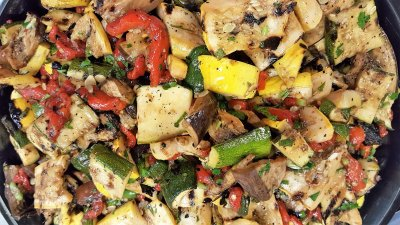 Grilled Harvest Vegetable Salad