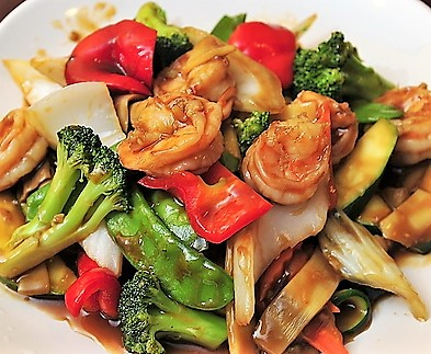 Thai Shrimp Stir-Fry*