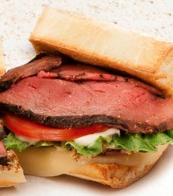 Roast Beef and Boursin Cheese*