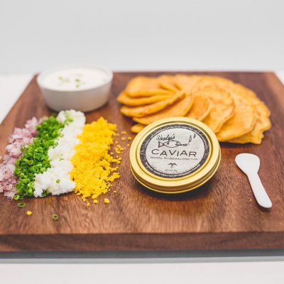 Caviar Garnish